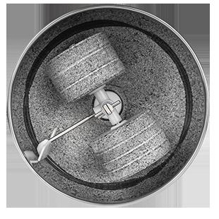 Чаша с гранитными жерновами меланжера Dream Classic MDC-01