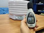 уровень шума дегидраторов